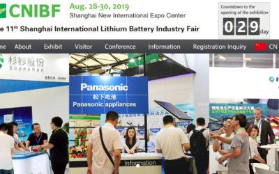 11th Shangai International Lithium Battery Indistry Fair
