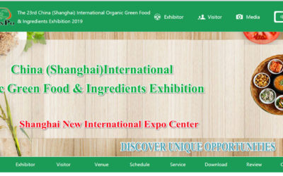 The 23rd China (Shanghai) International Organic Green Food & Ingredients Exhibition 2019