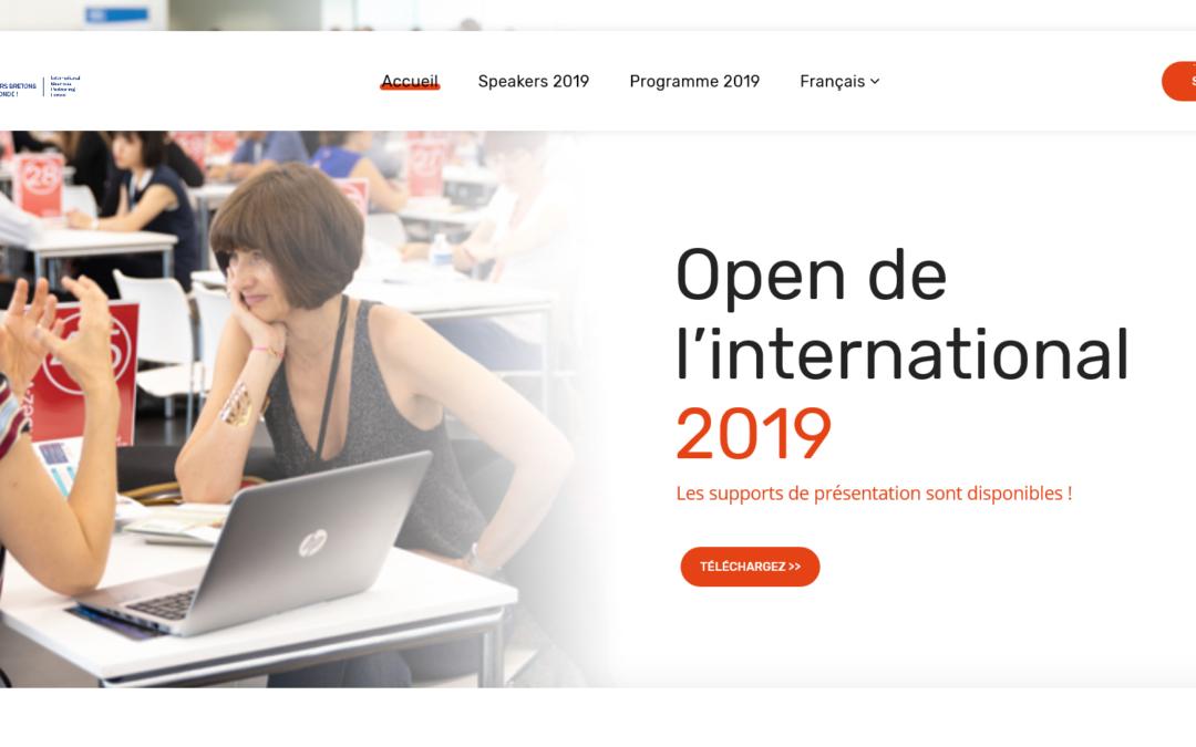 Open de l'international 2019