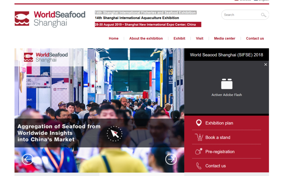 World Seafood Shanghai Exhibition (SIFSE) 2019